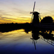 Traditional Dutch Art Print