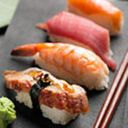 Traditional Japanese Sushi 2 Art Print