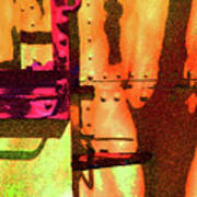 Train Abstract Variation Art Print