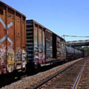 Train Colors 1 Art Print