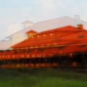 Train Depot Art Print by Wayne Archer
