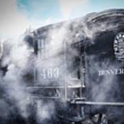 Train Engine 463 Art Print