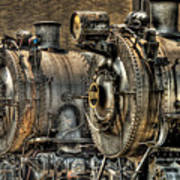 Train - Engine - Brothers Forever Art Print