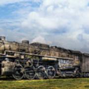 Train - Engine - Nickel Plate Road Art Print by Mike Savad