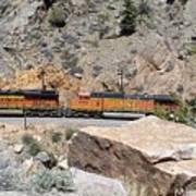 Train Engines Art Print