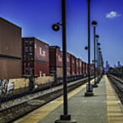 Train From Chicago Art Print