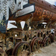 Train Graveyard Uyuni Bolivia 14 Art Print