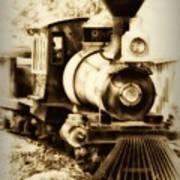 Train Keeps A Rolling Art Print