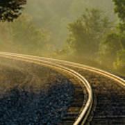 Train Lines Art Print