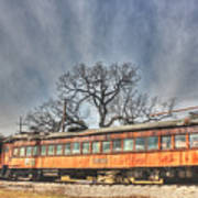 Train Series 3 Art Print