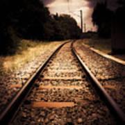Train Tour Of Darkness Art Print