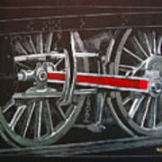 Train Wheels 4 Art Print