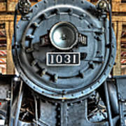 Trains - Steam Locomotive 1031 Art Print