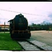 Trains 3 7a Art Print