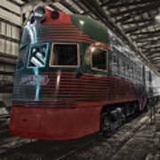 Trains North Shore Line Electroliner Sc Art Print