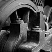 Trainwheels Art Print