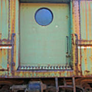 Trainyard 9 Art Print