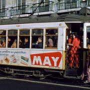 Tram 223, Graca, Lisbon, 1972 Art Print