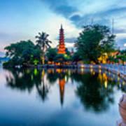 Tran Quoc Pagoda Art Print