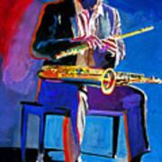 Trane - John Coltrane Art Print