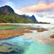 Tranquil Dawn Hawaii Art Print by Monica and Michael Sweet