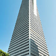 Transamerica Pyramid In San Francisco, California Art Print
