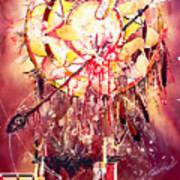 Transcending Indian Spirit Art Print
