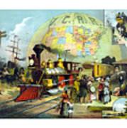 Transcontinental Railroad Art Print
