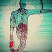 Transfusion Uninterrupted Art Print by Paulo Zerbato