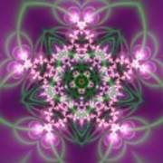 Transition Flower 5 Beats Art Print
