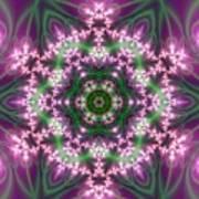 Transition Flower 6 Beats 4 Art Print