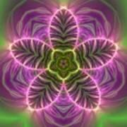 Transition Flower Art Print