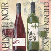 Transitional Wine 1 Art Print