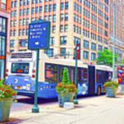Transportation In New York 6 Art Print