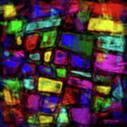 Trapezoidal Skews Art Print