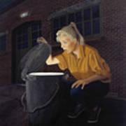 Trash Bin Art Print
