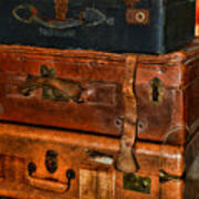 Travel - Old Bags Art Print