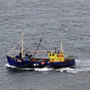 Trawling Off The Dingle Peninsula In Ireland Art Print