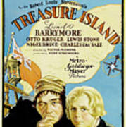 Treasure Island 1934 Art Print