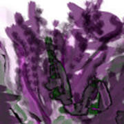Treat Me To Lavender Art Print