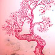 Tree 14 Hybrid 1 Art Print