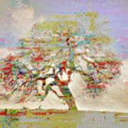 Tree Art 54tr Art Print