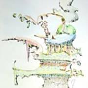 Tree House Condo Man Art Print