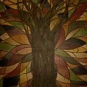 Tree Huggers Art Print