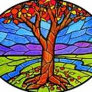 Tree Of Grace - Autumn Art Print
