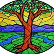 Tree Of Grace - Summer Art Print