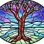 Tree Of Grace - Winter Art Print