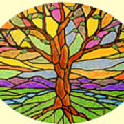 Tree Of Grace 2 Art Print