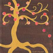 Tree Of Life - Left Art Print by Kristi L Randall