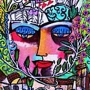 Tree Of Life Face Art Print